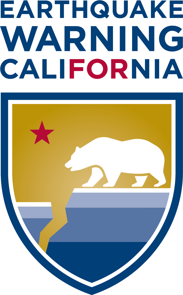 Earthquake Warning For California Logo
