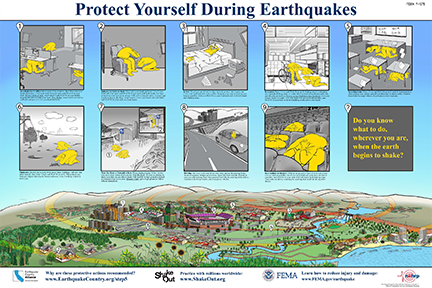 FEMA protect yourself during earthquakes